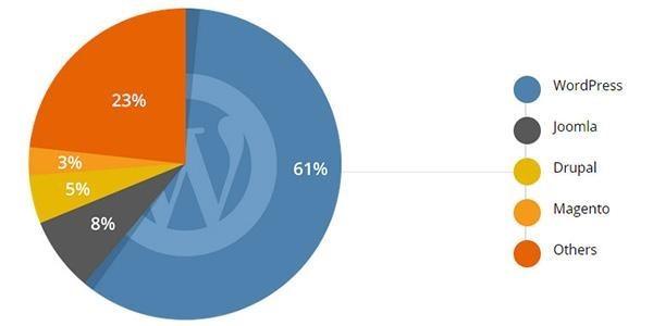 اطلاعات آماری در مورد وردپرس