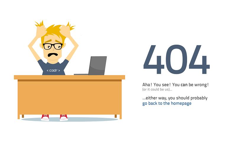 خطای Not found 404 چیست