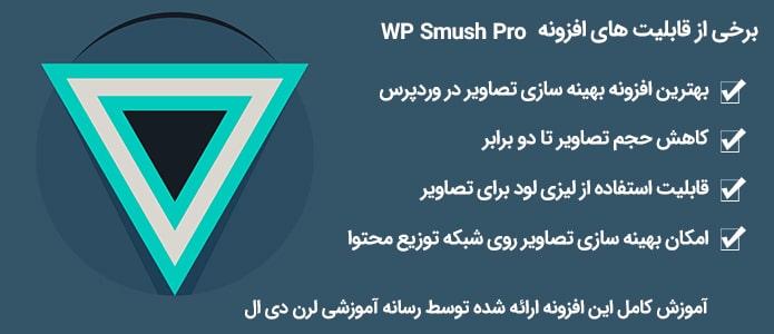 امکانات افزونه WP Smush Pro