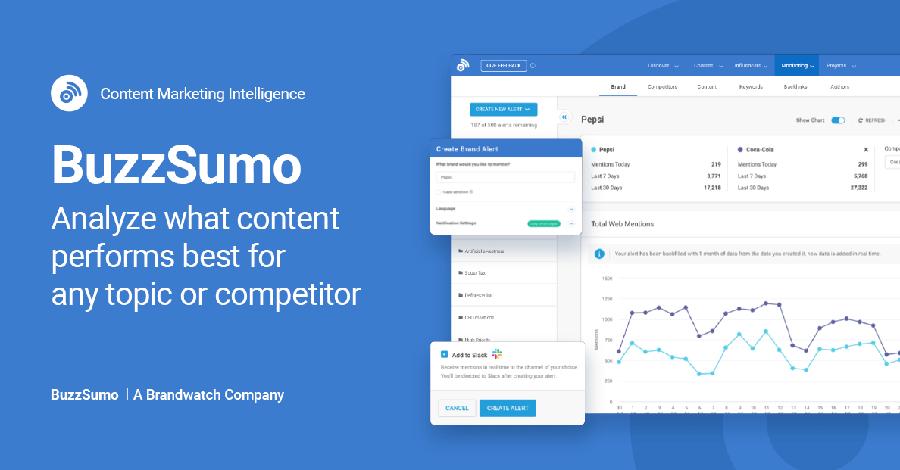 ابزار BuzzSumo برای بررسی بک لینک های سایت
