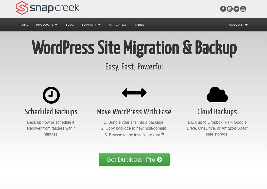 افزونه Duplicator برای انتقال سایت وردپرسی
