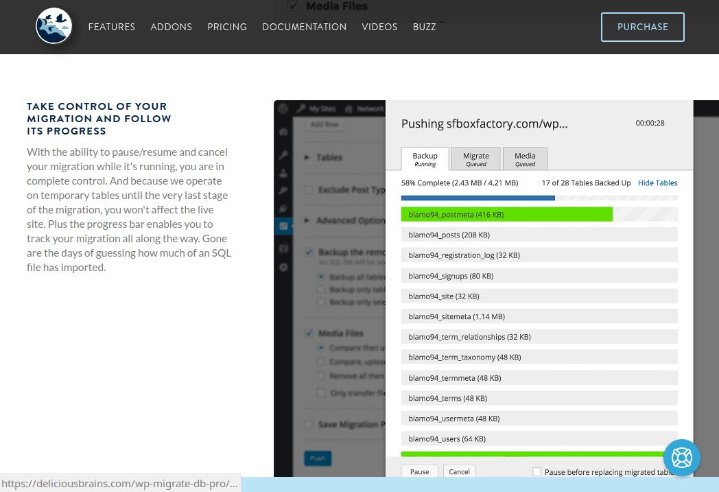 افزونه Migrate DB Pro برای انتقال وردپرس به هاست های دیگر