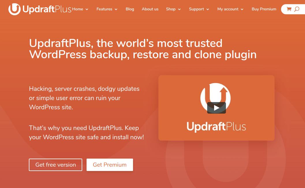 افزونه UpdraftPlus برای بک آپ گیری و انتقال وردپرس