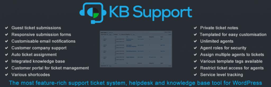 افزونه KB Support برای وردپرس
